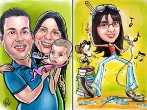 חגאי דובינסקי - קריקטוריסט - קריקטורות לאירועים