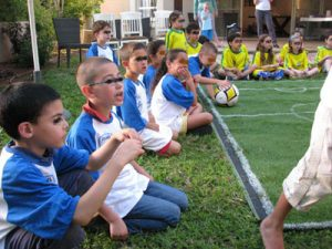 יום הולדת כדורגל - גול פארטי - הפעלות כדורגל
