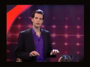 דניאל הראל - אמן חושים בהופעה בטלוויזיה