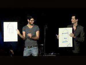 דניאל הראל - מופע בידור על חושי לאירוע חברה