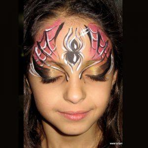 ציורי פנים וגוף - עמדת איפור לאירוע - מאפרת לילדים