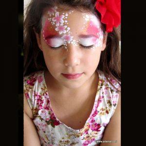 ציורי פנים וגוף - סדנת איפור פנים באירועים - מאפרת לילדים