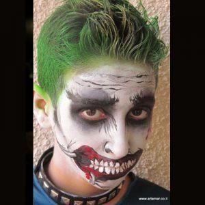 ציורי פנים וגוף - עמדת איפור פנים לאירועים - מאפרת לילדים