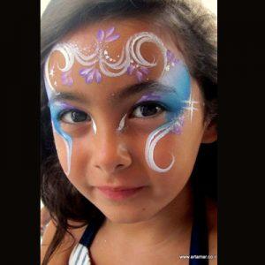 ציורי פנים וגוף - איפור פנים לפורים - מאפרת לילדים