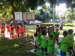 """יום הולדת כדורסל - """"כדורסלדת"""" - הפעלה ליום הולדת"""