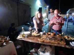 דוכני מזון ליום הולדת - עמדת טאבון לאירועים - הטאבון הנודד