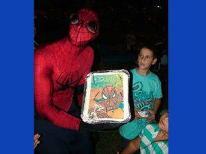יום הולדת ספיידרמן - עוגת יום הולדת ספיידרמן