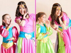 """סטפניה """"נסיכת הקצב"""" - ריקודי בטן ליום הולדת לילדות"""