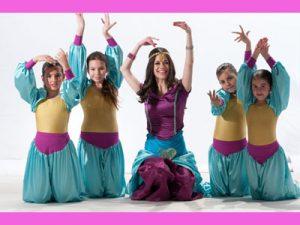 """סטפניה """"נסיכת הקצב"""" - ריקודי בטן לנערות"""