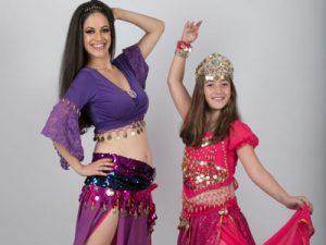 """סטפניה """"נסיכת הקצב"""" - ריקודי בטן לילדות"""