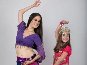 """טפניה """"נסיכת הקצב"""" - ריקודי בטן ליום הולדת לילדות"""